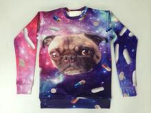 Wholesale Custom Crewneck 3D printed sweatshirt sublimated sweatshirt