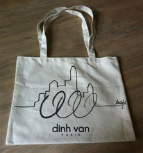 gold supplier good sale cotton customized convention tote bag, wholesale chinese shopping bag, custom tote cotton bag