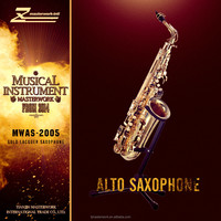 Middle Level good quality and cheap peice alto saxophone