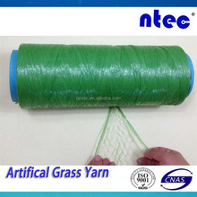 PE/PP 6000dtex Fibrillated Synthetic/Artificial Grass Yarn for tennis
