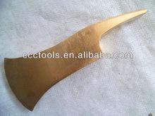 Berilio de cobre del bombero axe, no producen chispas herramientas de seguridad, herramientas de mano