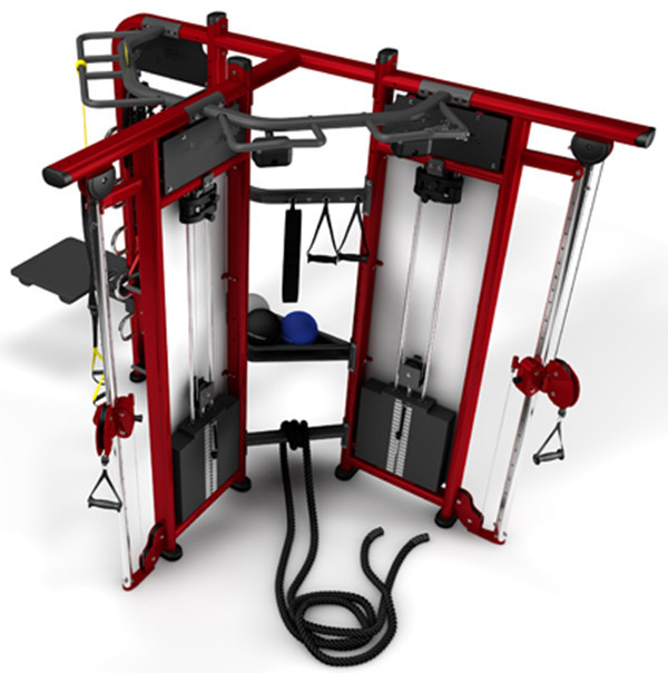 hot sale commercial grade multi-station gym equipment names Crossfit Rig Synrgy360