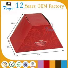 Special shape salad packaging box