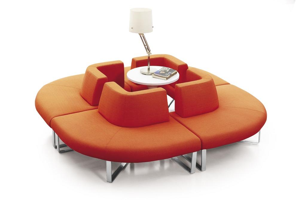 multiples couleurs tissu canap s de bureau petite taille canap en coupe ensembles pour caf. Black Bedroom Furniture Sets. Home Design Ideas