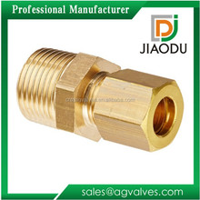1/2 1/4 Brass Compression Fittings For Copper Tubing