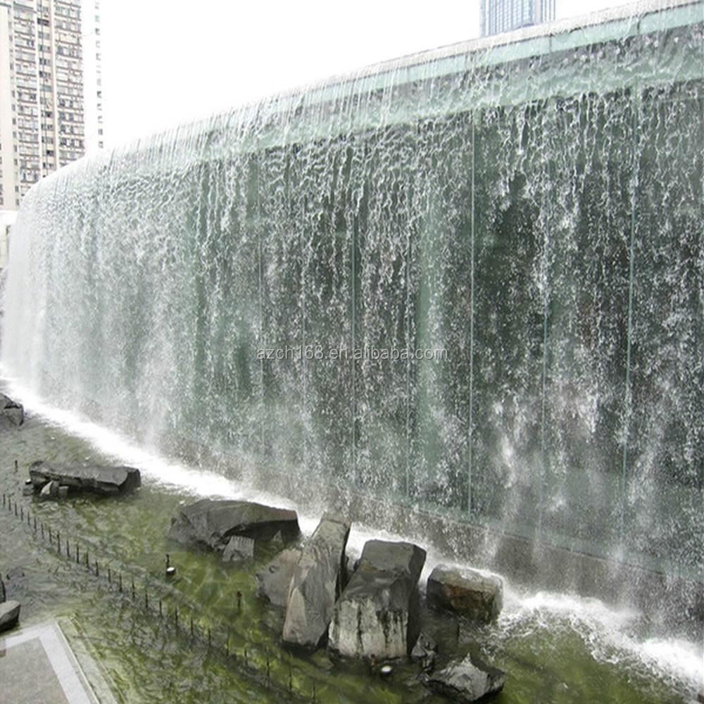 Outdoor artificial waterfall fountain outdoor wall for Artificial waterfalls design