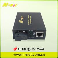 fast ethernet 10/100m 40km fiber media converter