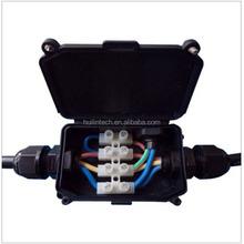 Black 923 294 series waterproof outdoor electrical junction box