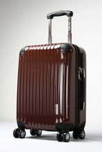 travel luggage bag / fashionable abs pc suitcase / travel bag with four wheels
