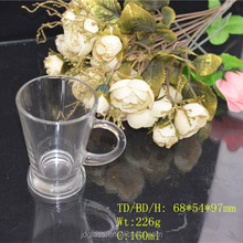 2015 high quality 2oz coffee glass cup for promotion
