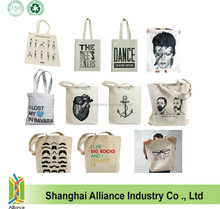 Promotional Canvas Cotton Natural Tote Bag