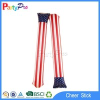 buy direct from China manufacturer pe 60*10 cm led lighting inflatable balloon stick clappers