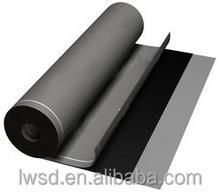LW 1- 4mm*1-3m High polymer self adhesive waterproofing material, waterproof membrane, asphalt roll roofing