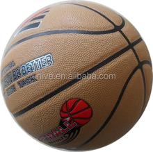 Famous brand Size 7 PU laminated basketball, FIBA standard basketball