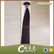 22inch 55cm Pre Bonded U Tip/Keratin Nail Remy Human Hair Extension
