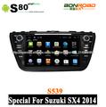 táctil capacitiva pantalla coche dvd para suzuki sx4 de radio rds con 3g wifi navegación pipv- cdc corteza a9 doble núcleo