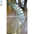 escaleras de vidrio