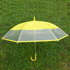 Wholesale Cheap PVC Clear Plastic Umbrella