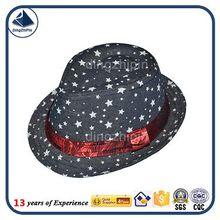 Custom Vintage Popular men wool Floppy Jazz Fedora Hats