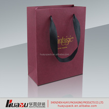 Top Popular and High Quality Custom Craft Paper Bag with paper bag design