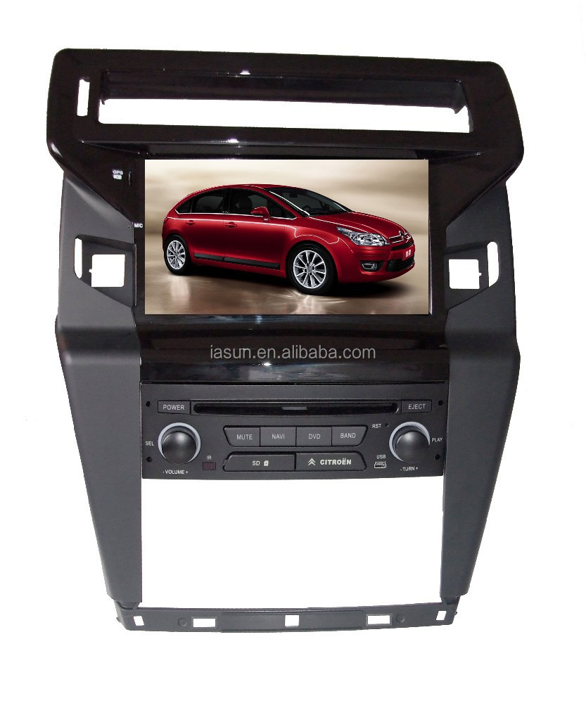 isun android for citroen c4 picasso car dvd player for. Black Bedroom Furniture Sets. Home Design Ideas