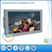 visualización fiable de 65 pulgadas de alto brillo LCD AD precio señalización digital al aire libre