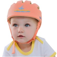 100% cotton ivory color breathable baby helmet Beilibao F style infant helmet