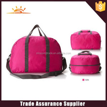 factory direct nylon foldable travel bag