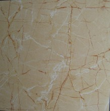 Golden crack pattern look polished porcelain tile 3D022