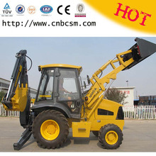 Extraordinary working efficiency low noise and strong power mini backhoe loaders for sale in America