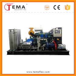 Paint/Rust/Dirt/Oil Removal With High Pressure Cleaning Machine China Factory