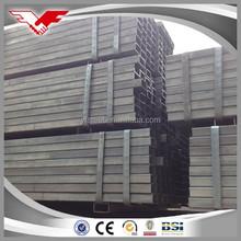 asian black iron square tube export to Singapore