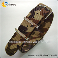 Customized CAMO nato strap watch band UN07 in different colors or sizes