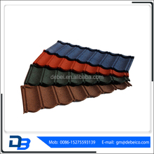 Color stone coated aluminum zinc steel roofing tile