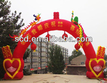 Hot sell advertising inflatable Arch,inflatable archway,