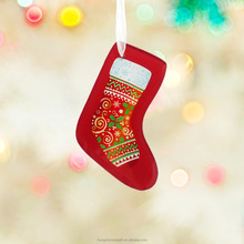 HX-7788 Holiday living make it resin personalized christmas ornaments wholesale