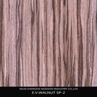 sliced cut black burl walnut recon wood veneer for furniture skins with top trusty quality commercial veneer