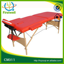 Luxurious Design Massage Table with High Quality wood material