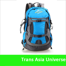 Hot Sale custom cheap blue sports backpack
