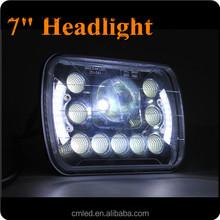NEW!!! 7Inch Square LED Driving Light 55W LED Head Light High/Low Beam LED Headlight