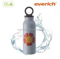 Water proof 220ml alu. sports bottle with cute shape for kids