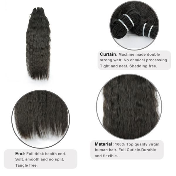 Livraison Gratuite 8A Water Wave Cheveux 3 Bundles/lot Brésilien Vierge Cheveux