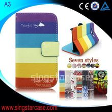 For Samsung Galaxy S 2 duos I929 Flip Cover Wholesale Printed Stand Wallet Leather Case Cover For Samsung Galaxy S 2 duos I929