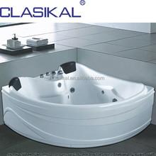 CLASIKAL bathroom easy to clean bathtub, classic design whirlpool massage bathtubs