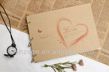 Handmade DIY Wedding Craft paper photo album