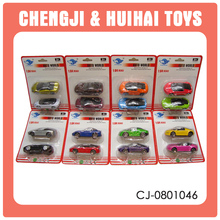 1:64 custom made slide toy diecast cars