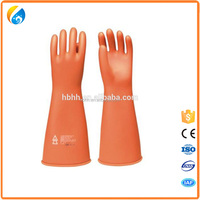 """11"""" and 14"""" Class 00 Latex High Voltage Electric Insulating Gloves"""
