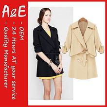ae formal de la moda las mujeres traje de chaqueta
