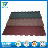 China stone coated cheap interlocking roofing tiles in many colors