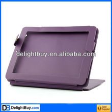 New Magnetic Smart cover Leather Case Cover for Apple iPad 2 w/ Stand Purple